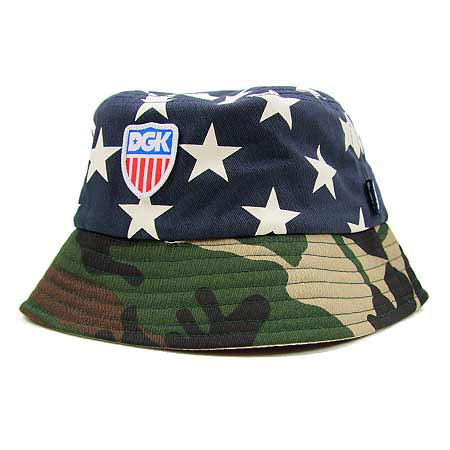 8a1e661c34bfd DGK Americana Bucket Hat in stock at SPoT Skate Shop