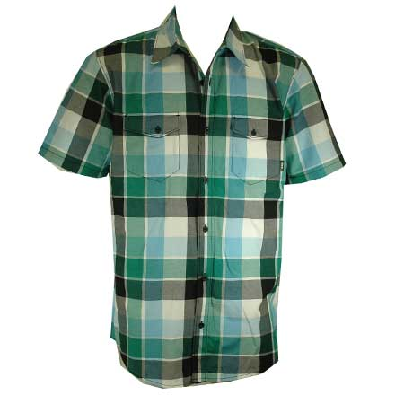 Vans Vernon Short Sleeve Button Up Flannel Shirt In Stock At Spot