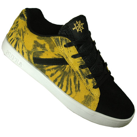 25b23640b8bd OUT OF STOCK Color  Black Suede  Yellow Tie Dye