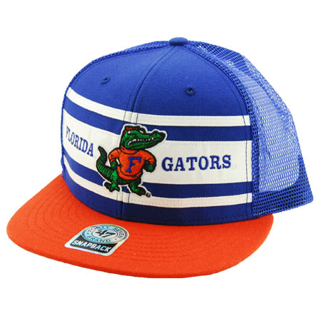 47 Brand Florida Gators Retro Super Stripe Snap-Back Hat in stock at ... 70022ed38ef6