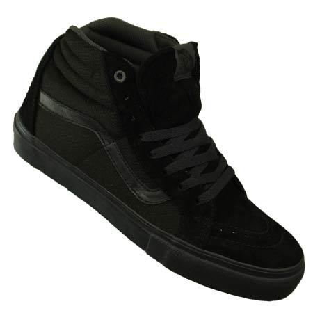 vans sk8 hi pro all black