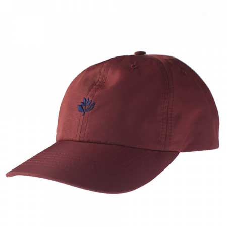 Magenta Plant 6-Panel Strap-Back Dad Hat in stock at SPoT Skate Shop 57a5a2637cd