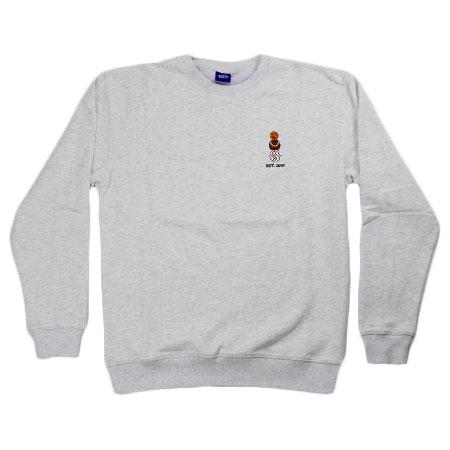 Crewneck Quartersnacks Sweatshirt Snackman Embroidered thsrdQ