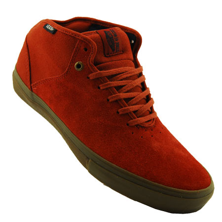 65e9f55988 OUT OF STOCK Color  Gilbert Crockett  Brick Suede  White