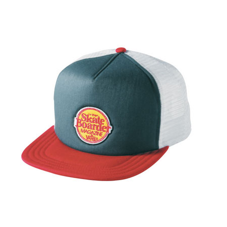 2dd7918fddb Vans Skateboarder Magazine Kids Trucker Hat in stock at SPoT Skate Shop
