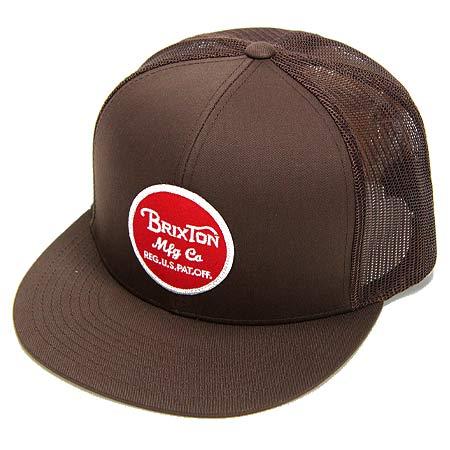 ea3eec6fddc Brixton Wheeler Adjustable Mesh Snap-Back Hat in stock at SPoT Skate ...