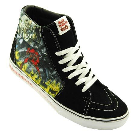3b8eccd9f3d0 Vans SK8-Hi Iron Maiden 30th Anniversary Shoes in stock at SPoT ...