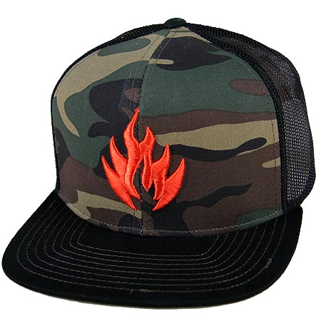 8d465513884 Black Label Camo Trucker Adjustbale Hat in stock at SPoT Skate Shop