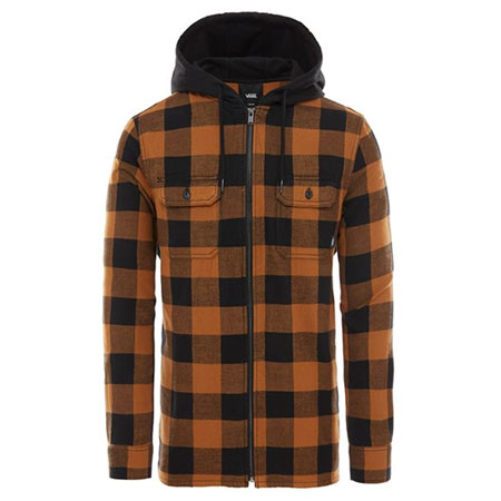 5b329d43a3 Vans Kenton Hooded Flannel Shirt in stock at SPoT Skate Shop