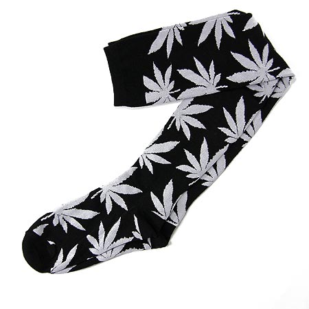 3f26215fa1a HUF Plantlife Knee High Socks in stock at SPoT Skate Shop