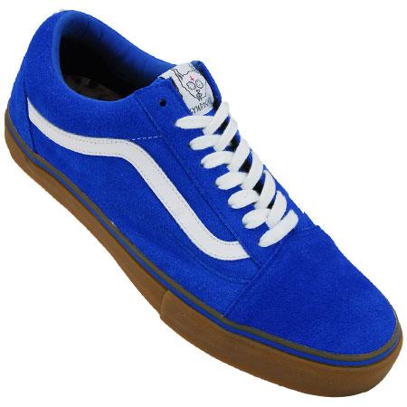 blue suede vans old skool