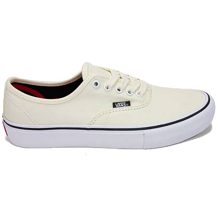 white authentic vans pro