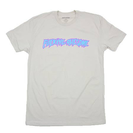 Fucking awesome summer logo t shirt in stock at spot skate for Get fucked t shirt