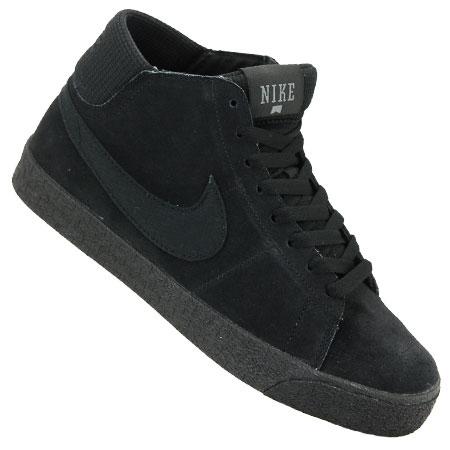 Nike-sb-blazer Mi-lr Noir Couleurs Gris Foncé