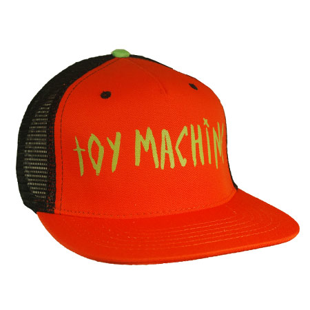 Toy Machine Text Eye On Bill Adjustable Mesh Hat in stock at SPoT ... 72ad523b3d3